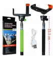 Monopod/prelungitor SELFIE wireless bluetooth pt telefoane si camere foto-bat baston telescopic foto